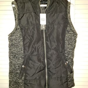 Nwt Jason Maxwell outerwear Black Vest size large